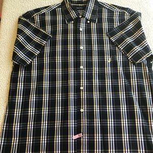Men's Nautica button up shirt size L